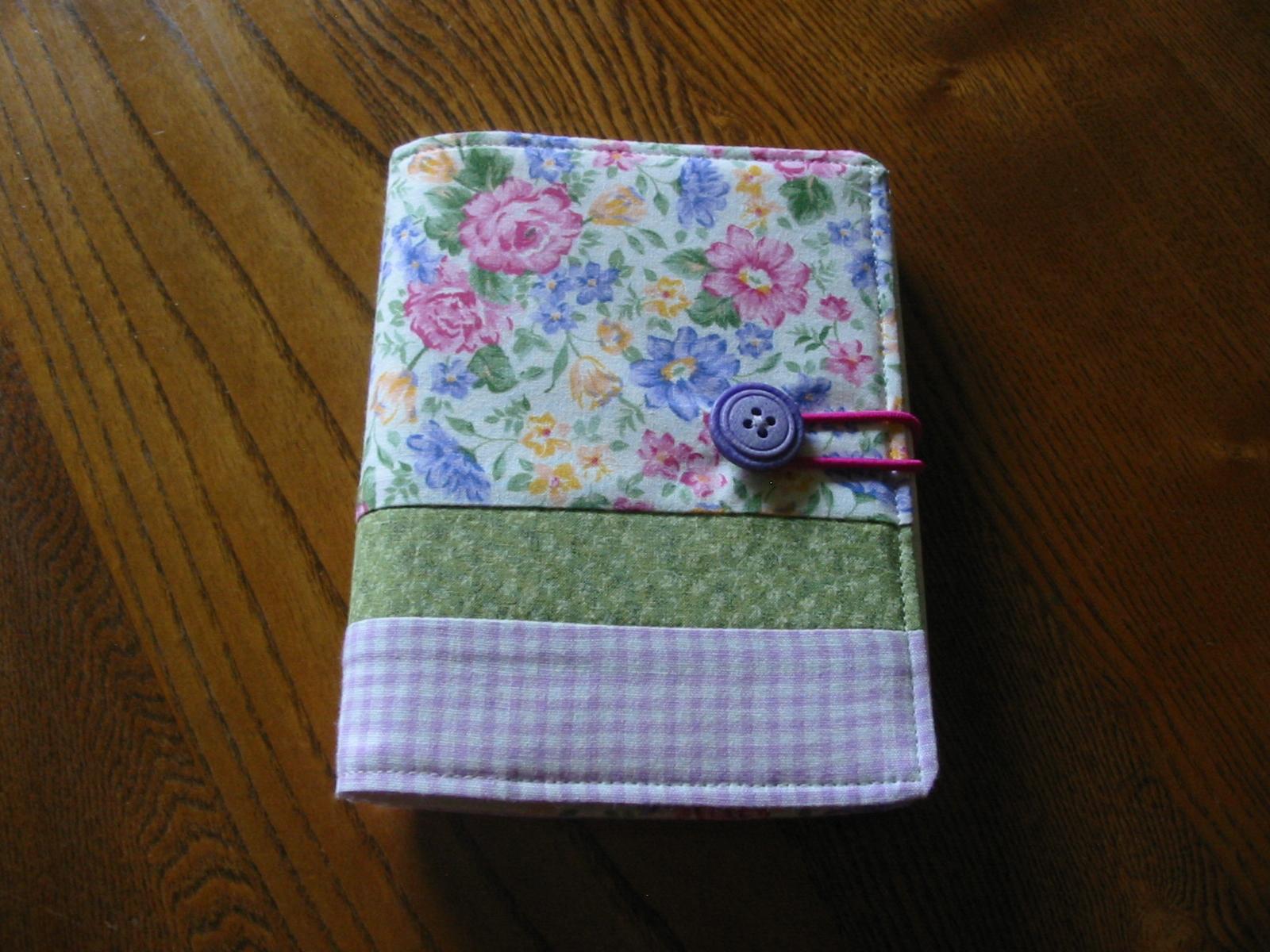Fabric Notebook Cover : Fabric notebook cover the shepherds house